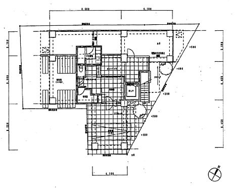 マンション(建物全部)-中野区野方5丁目 1階部分間取り