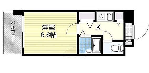 マンション(建物一部)-大阪市浪速区桜川2丁目 間取り