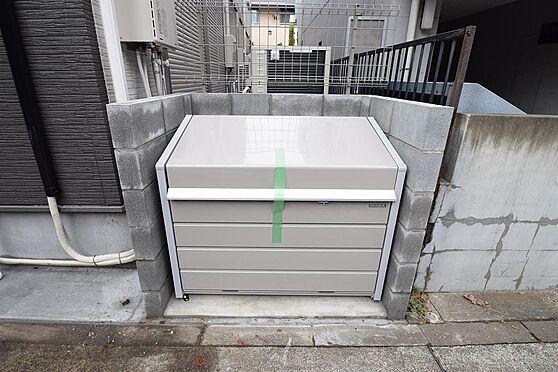 アパート-小金井市本町5丁目 入居者専用のゴミ置き場有り