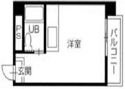 マンション(建物一部)-徳島市栄町5丁目 間取り