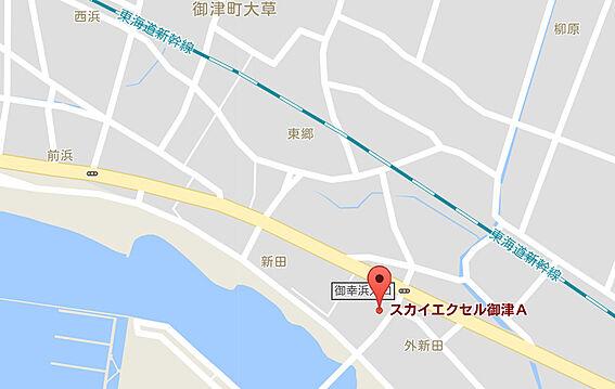 マンション(建物全部)-豊川市御津町大草新田 周辺地図