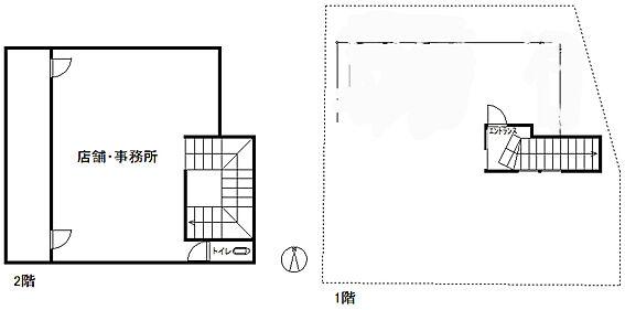 店舗付住宅(建物全部)-長野市三輪8丁目 居間