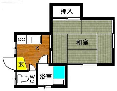 アパート-長崎市泉3丁目 間取り