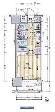 マンション(建物一部)-大阪市福島区鷺洲2丁目 間取り