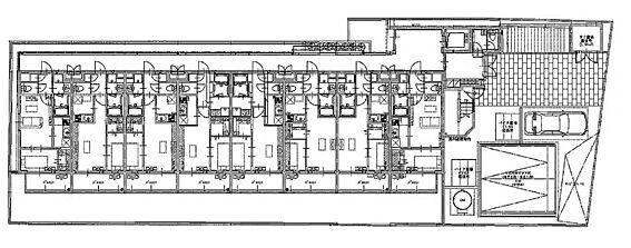 マンション(建物全部)-福岡市南区井尻3丁目 1階配置図