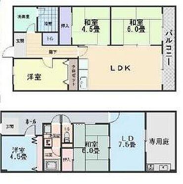 マンション(建物全部)-堺市北区百舌鳥陵南町3丁 間取り