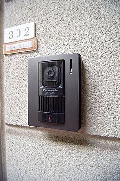 アパート-大田区中馬込1丁目 防犯性に優れたモニターホン。