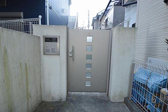 アパート-横浜市西区久保町 ダイヤル式集合ポスト