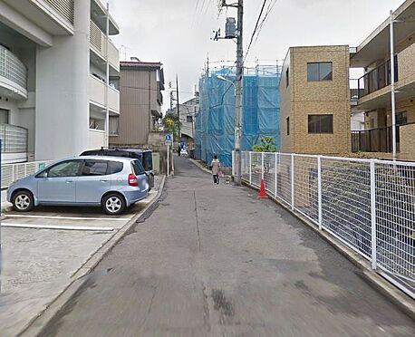 マンション(建物全部)-板橋区若木1丁目 前面道路