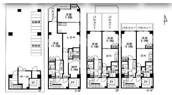 マンション(建物全部)-墨田区緑2丁目 間取り