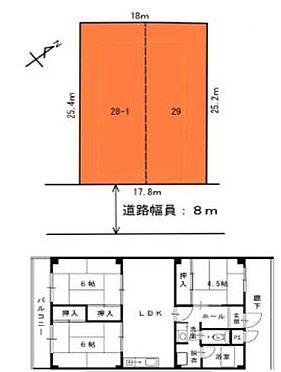 マンション(建物全部)-堺市堺区少林寺町西2丁 間取り