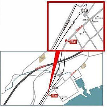 アパート-静岡市駿河区用宗5丁目 地図