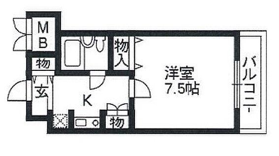 マンション(建物一部)-京田辺市草内禅定寺 間取り