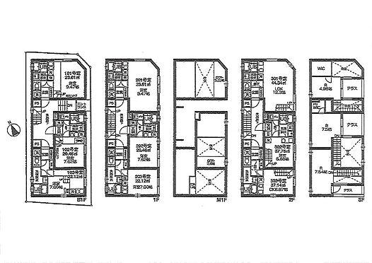 マンション(建物全部)-港区南青山7丁目 間取り