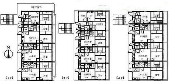 マンション(建物全部)-板橋区双葉町 間取り