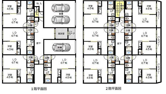 マンション(建物全部)-札幌市白石区南郷通5丁目南 間取り