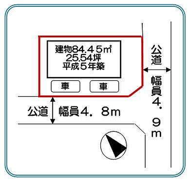 アパート-行田市大字若小玉 地図