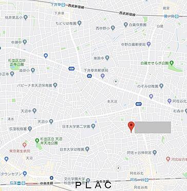 マンション(建物全部)-杉並区阿佐谷北3丁目 周辺地図