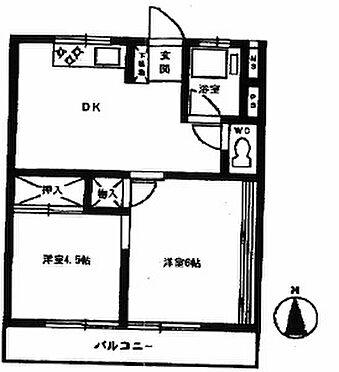 マンション(建物一部)-福生市武蔵野台1丁目 間取り