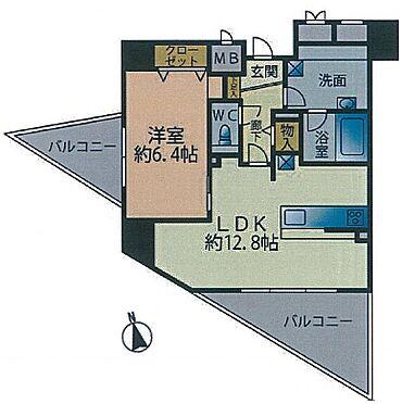 マンション(建物一部)-奈良市三条大宮町 間取り