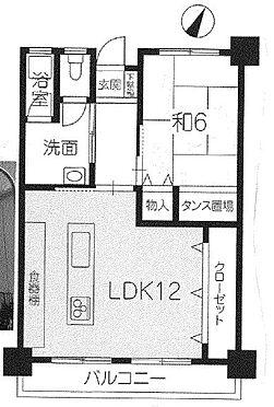 マンション(建物一部)-加古川市平岡町高畑 間取り