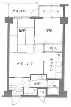 マンション(建物一部)-加賀市熊坂町 間取り