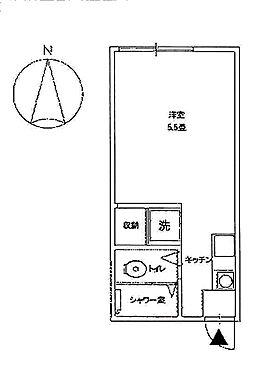 アパート-岡山市北区谷万成1丁目 間取り
