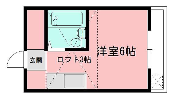 アパート-さいたま市桜区大字上大久保 間取り