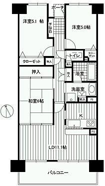 マンション(建物一部)-浜松市中区山下町 グランコート山下間取