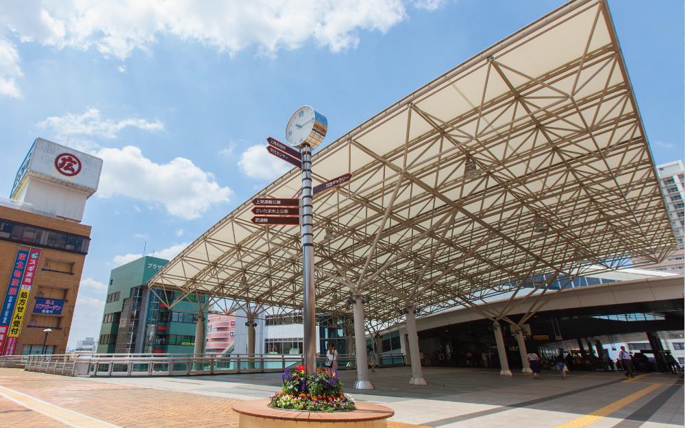 上尾駅 約560m(徒歩7分)