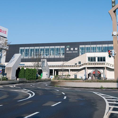 JR「長岡」駅 約870m(徒歩11分)