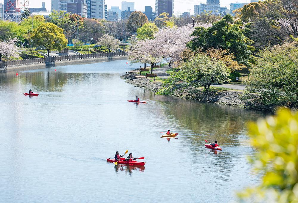 新長島川親水公園 約140m(徒歩2分)