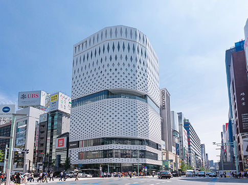 GINZA PLACE 約1,360m(徒歩17分)