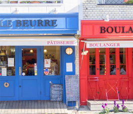 Boule Beurre Boulangerie(ブールブール・ブーランジェリー) 約330m(徒歩5分)