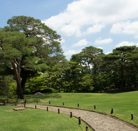 殿ヶ谷戸庭園 約2,880m(徒歩36分)