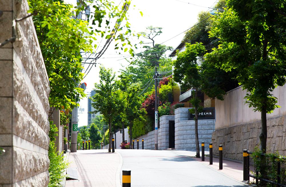 松濤街並み 約510m(徒歩7分)