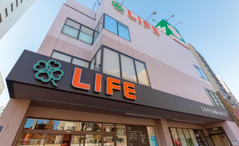 ライフ浅草店 約620m(徒歩8分)