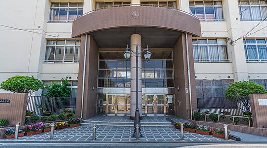 市立阪南中学校 約660m(徒歩9分)
