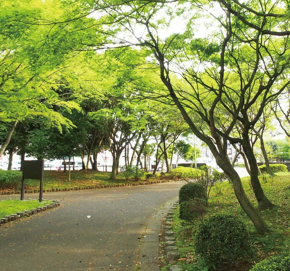 宇都宮駅東公園 約180m(徒歩3分)