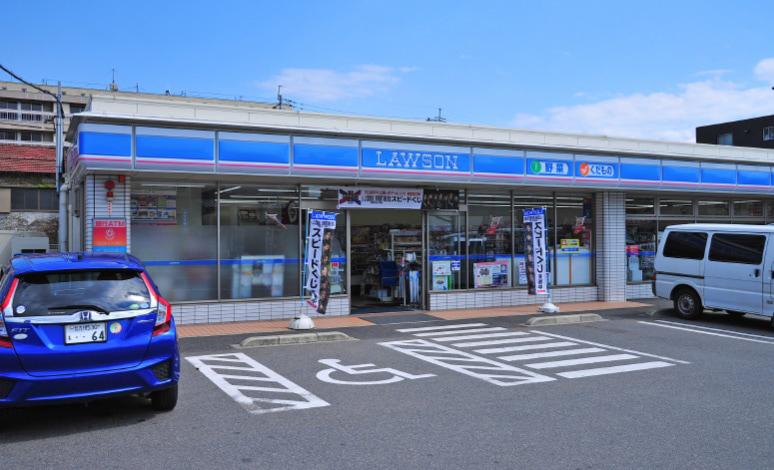 ローソン戸畑天神2丁目店 約35m(徒歩1分)