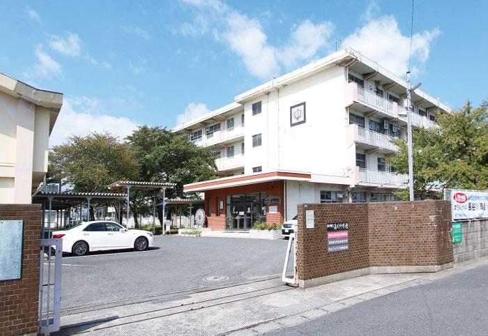 湯川中学校 約650m(徒歩9分)