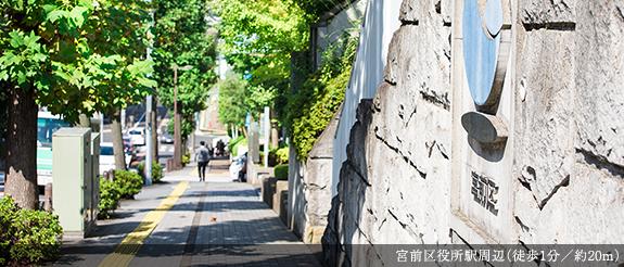 宮前区役所駅周辺 約20m(徒歩1分)
