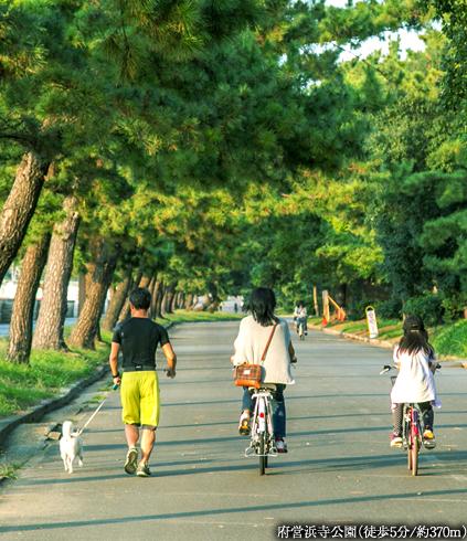 府営浜寺公園 約370m(徒歩5分)