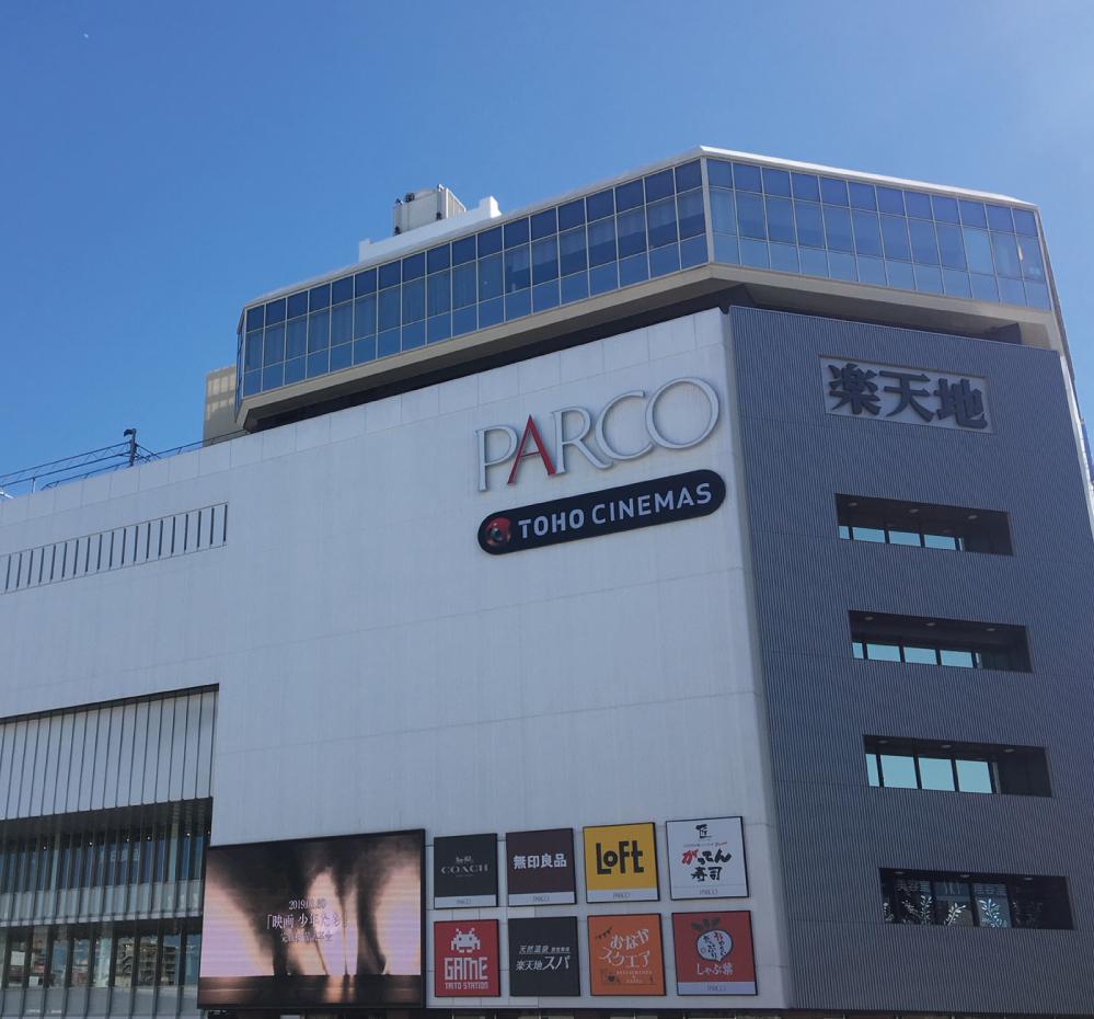 PARCO錦糸町 約640m(徒歩8分)