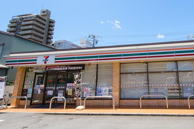 セブンイレブン浜松山下町店 約100m(徒歩2分)