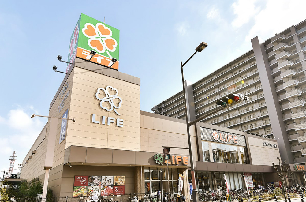 ライフ堺駅前店 約1,050m(徒歩14分)