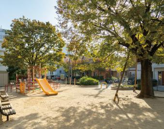 こまつケヤキ公園 約90m(徒歩2分)