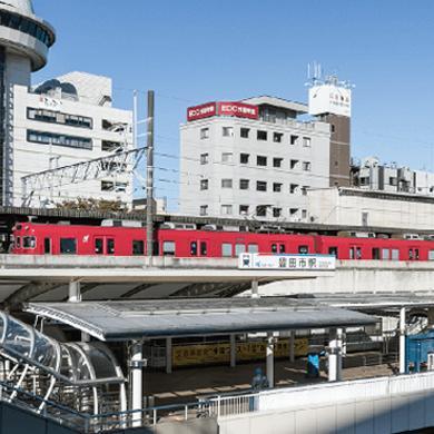 名鉄豊田線・三河線「豊田市」駅 約4,850m