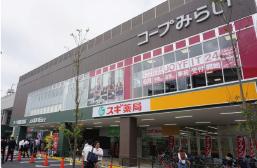 コープ葛飾白鳥店 約520m(徒歩7分)