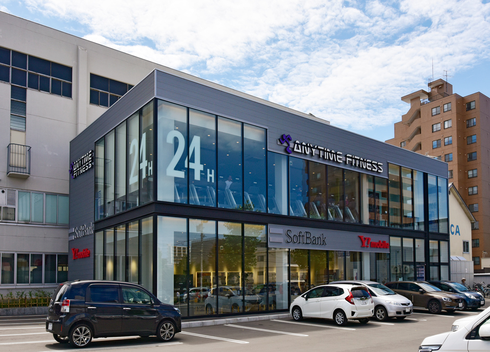 ANYTIME FITNESS 約50m(徒歩1分)